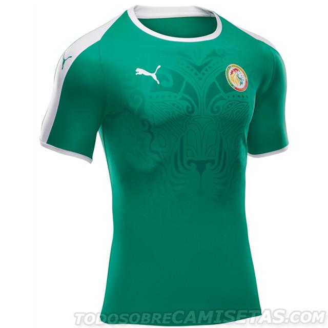 Masco Senegal Camiseta Verde Branding
